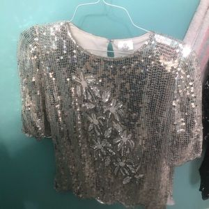 Tops - Vintage sequin top
